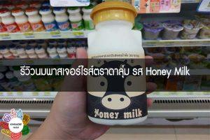 รีวิวนมพาสเจอร์ไรส์ตราดาลุ่ม รส Honey Milk #กินอะไรดี